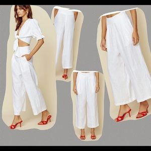 Faithfull Meridian Wide-Leg Pants